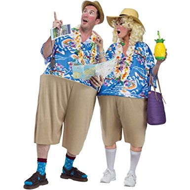 Adult Tacky Tourist Costume - UNISEX - Halloween & Party Costumes - America Likes To Party