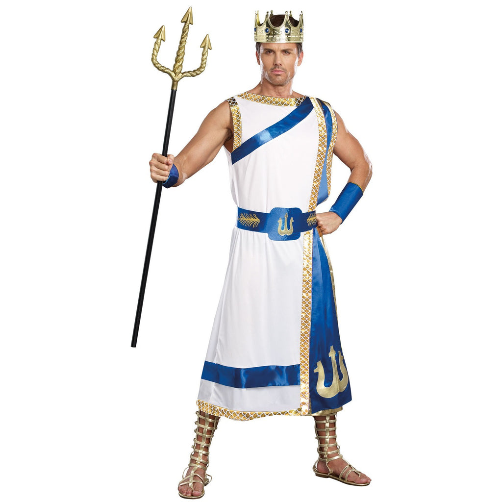 Adult Poseidon Costume - ADULT MALE - Halloween & Party Costumes - America Likes To Party