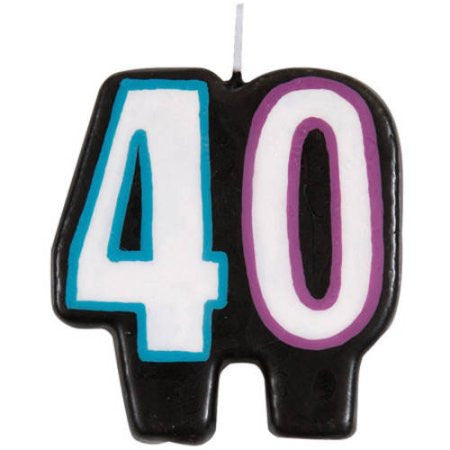 """40"" Candle"