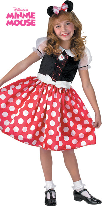 Child Minnie Mouse Classic Costume - GIRLS - Halloween & Party Costumes - America Likes To Party