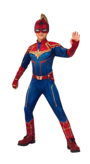 Child Captain Marvel Deluxe Costume #033