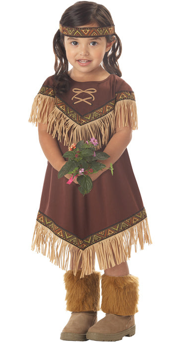 Child Lil' Indian Princess Costume - TODDLER - Halloween & Party Costumes - America Likes To Party