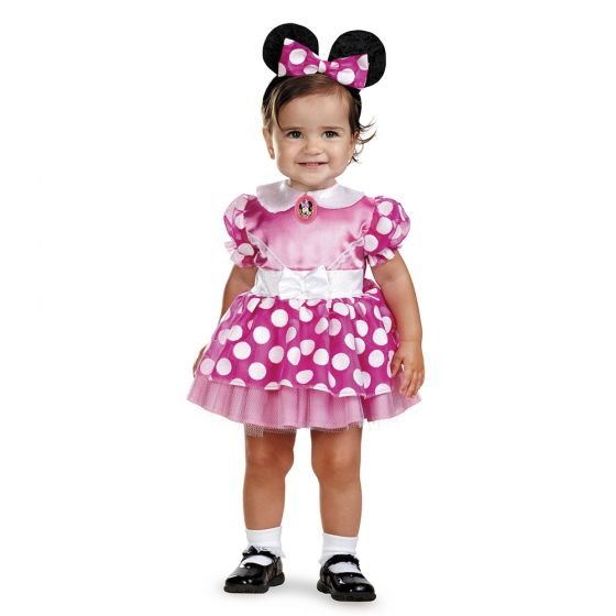 Toddler Minnie Mouse Club House Pink Costume