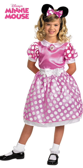 Child Minnie Mouse Club House Pink Costume - GIRLS - Halloween & Party Costumes - America Likes To Party