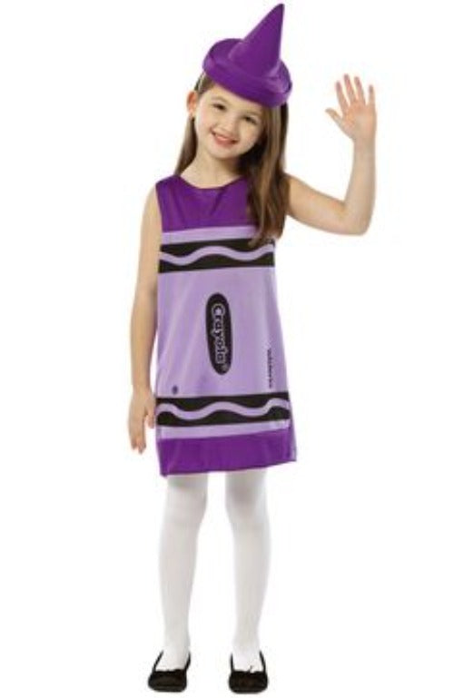 Child Crayola Crayon Costume Blue #040