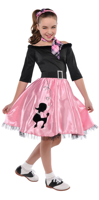 Child Miss Sock Hop Costume - GIRLS - Halloween & Party Costumes - America Likes To Party