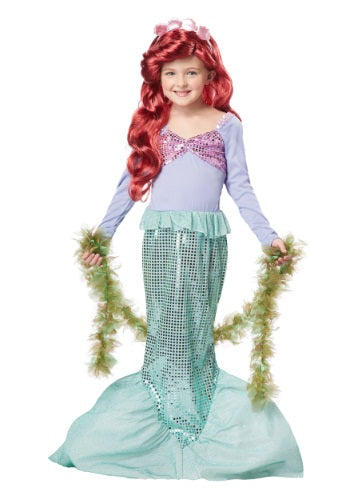 Child Lil' Mermaid Costume #049