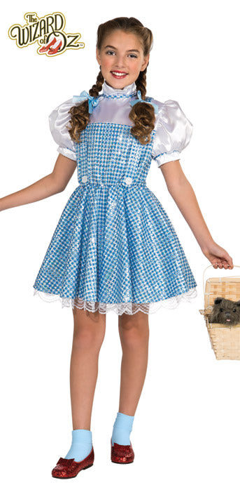 Child Sequin Dorothy Costume - GIRLS - Halloween & Party Costumes - America Likes To Party