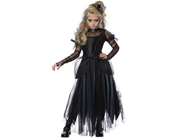 Child Dark Princess Costume #072