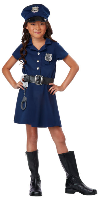 Child Girls Police Officer Costume - GIRLS - Halloween & Party Costumes - America Likes To Party