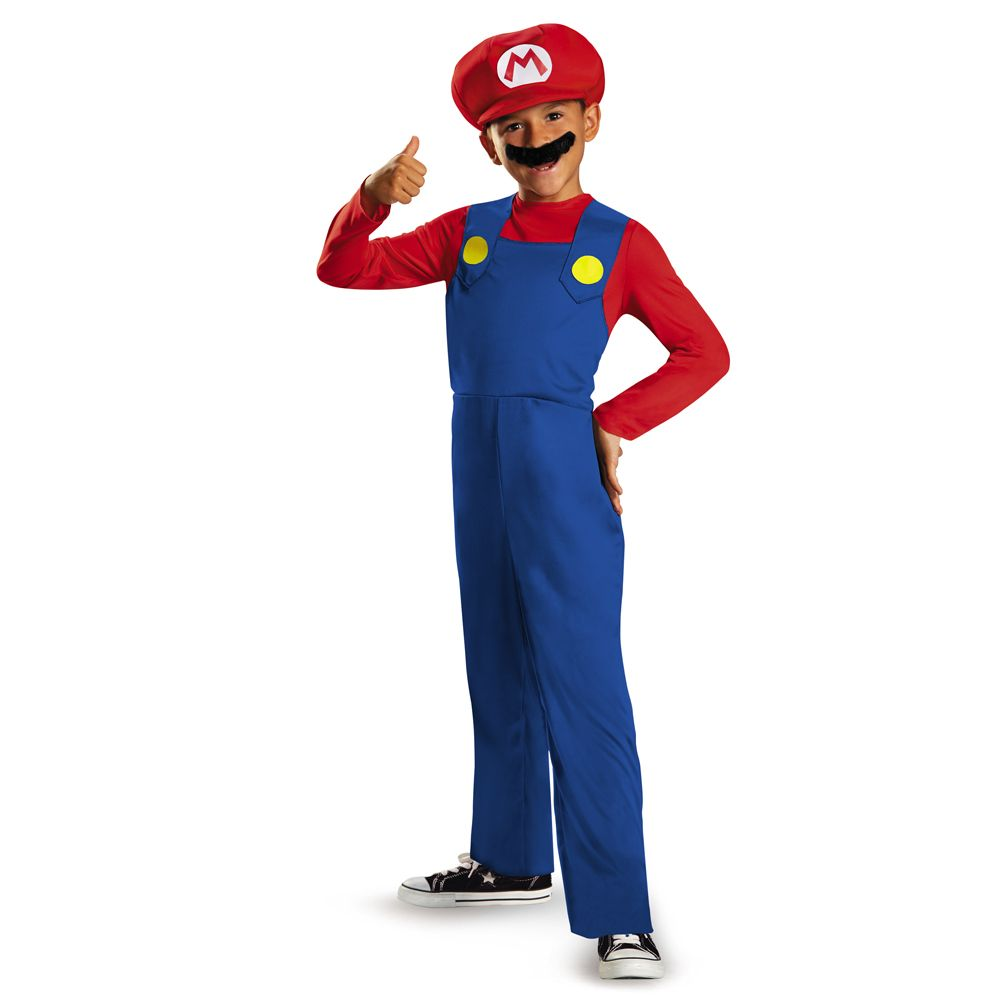 Child Mario Classic Costume #095