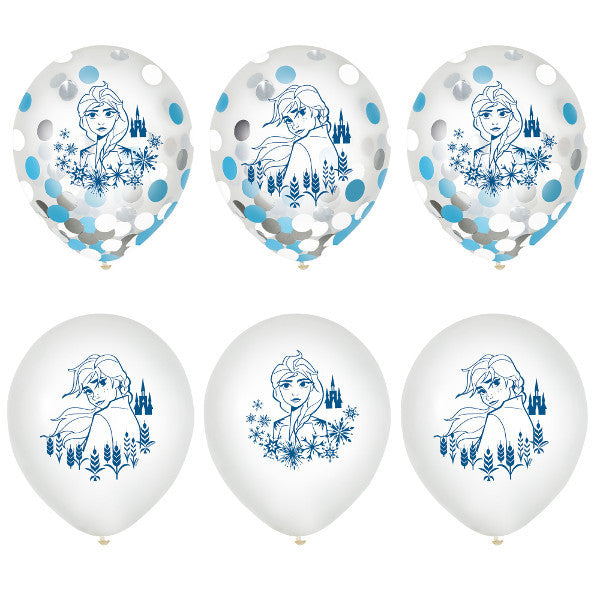 ©Disney Frozen 2 Latex Confetti Balloons