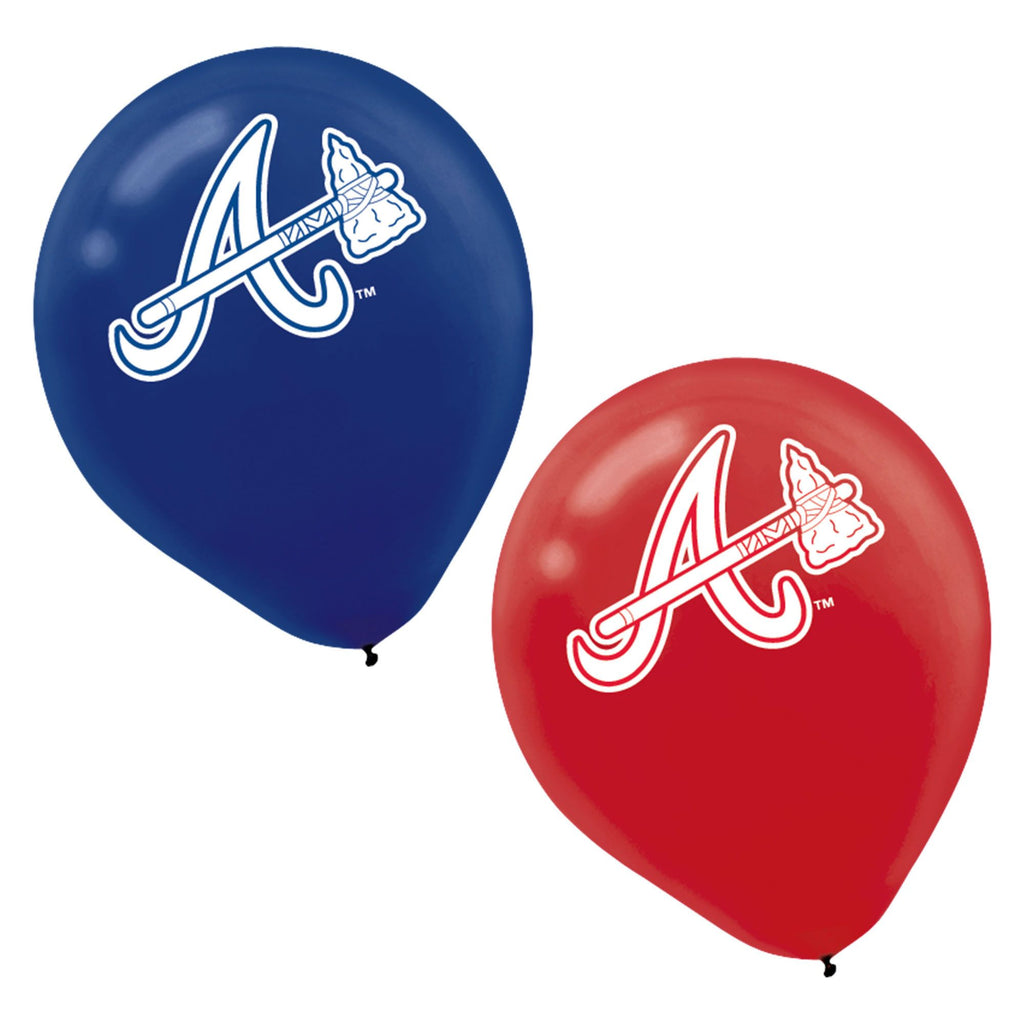 Atlanta Braves Latex Balloons