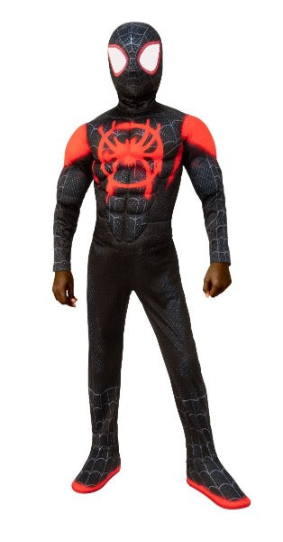 Child Miles Morales Spiderman Costume #130
