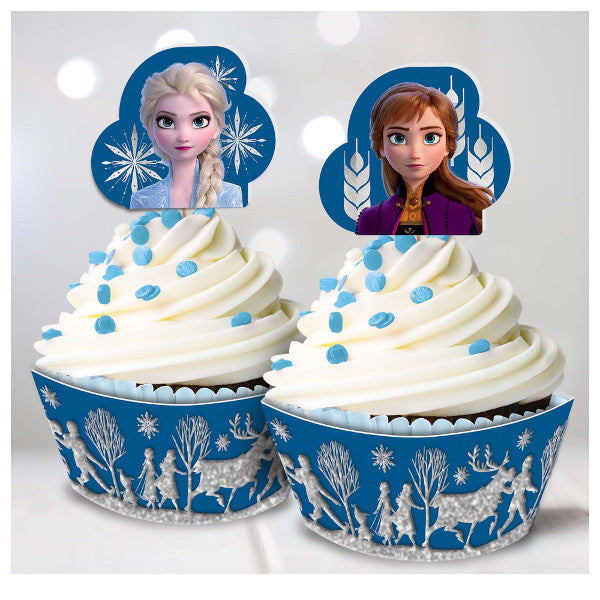 ©Disney Frozen 2 Glitter Cupcake Kit