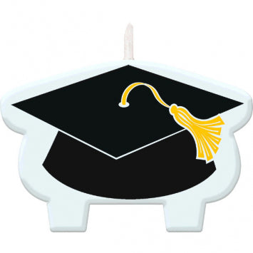Graduation Cap Candle