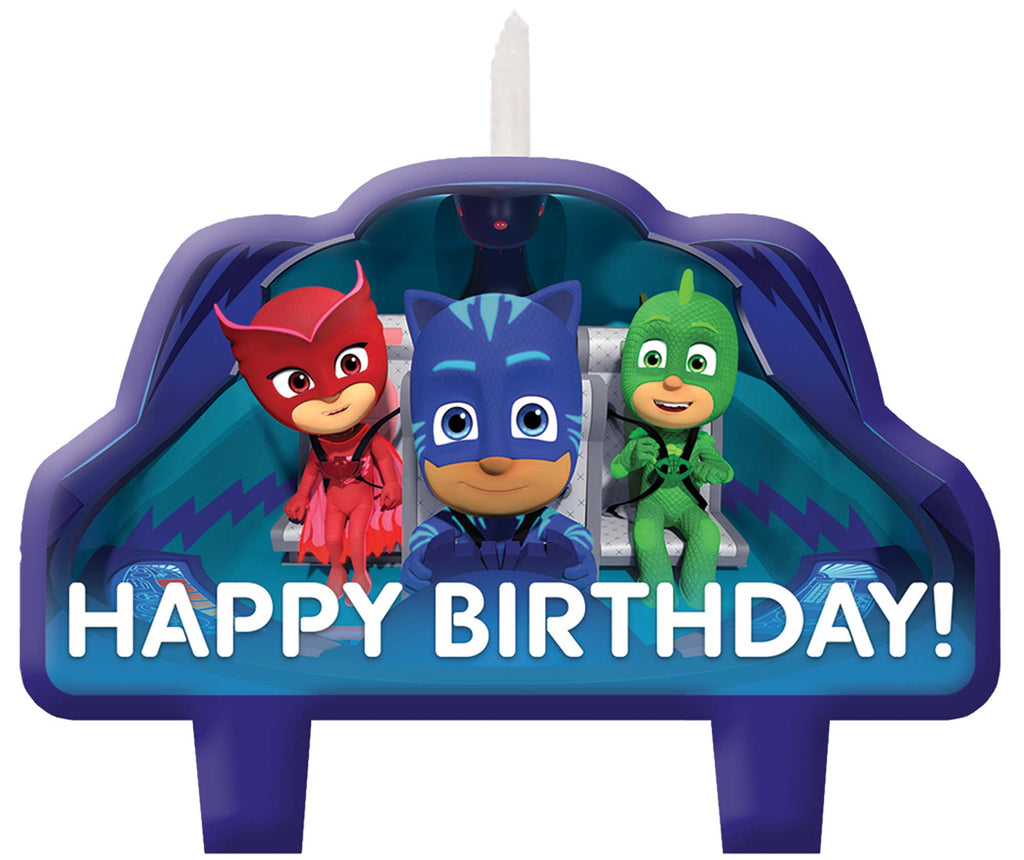 PJ Masks Birthday Candle Set - PJ MASK - Party Supplies - America Likes To Party