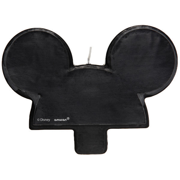 Mickey Mouse Ears Candle
