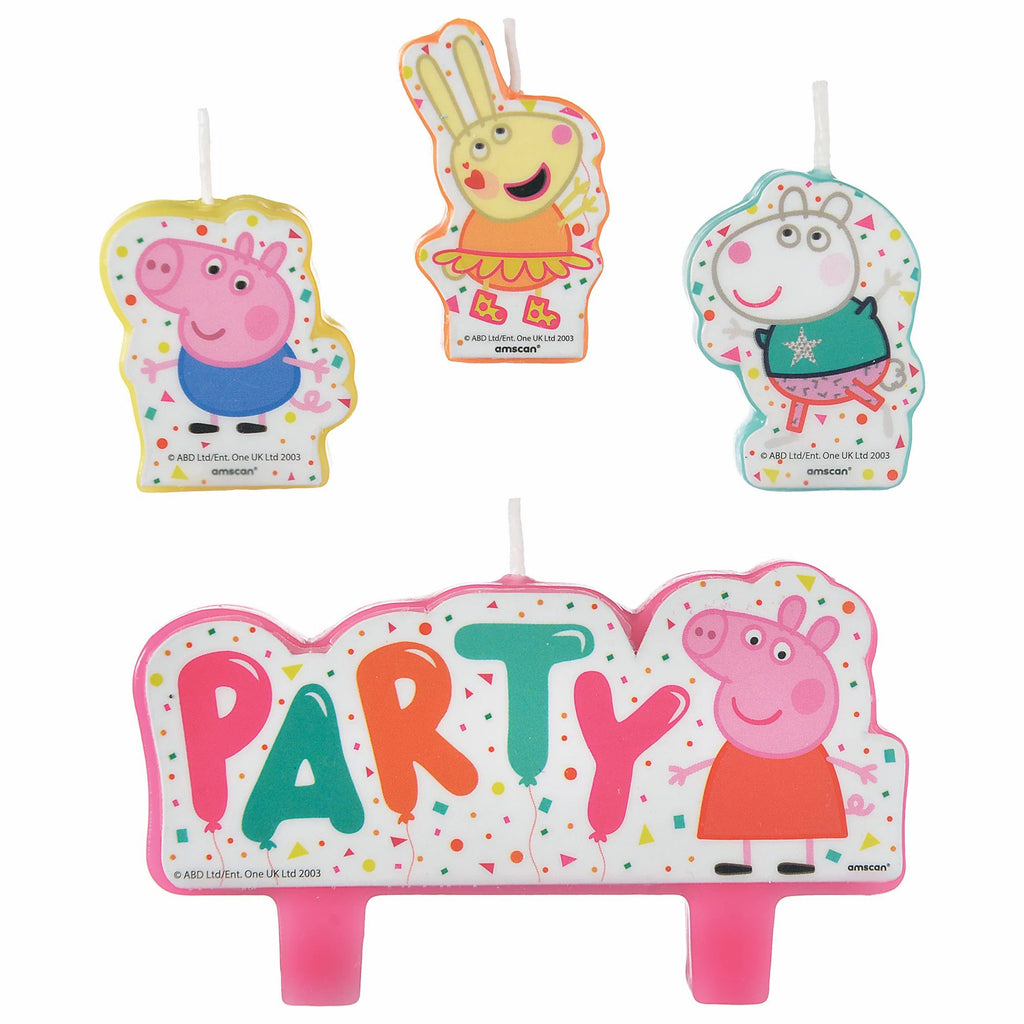 Peppa Pig Party Candle Set