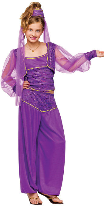 Child Dreamy Genie Costume - GIRLS - Halloween & Party Costumes - America Likes To Party