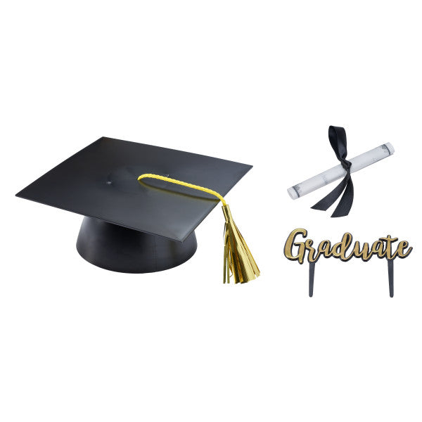 Graduation Cap with Scroll and Graduate Layon Mega Decoration