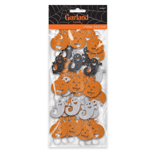 Pumpkin Ring Garland