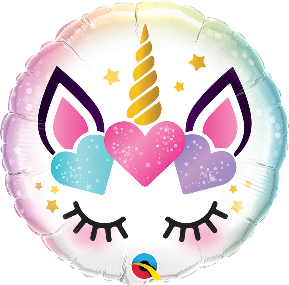 Unicorn Eyelash Magical Day Balloon