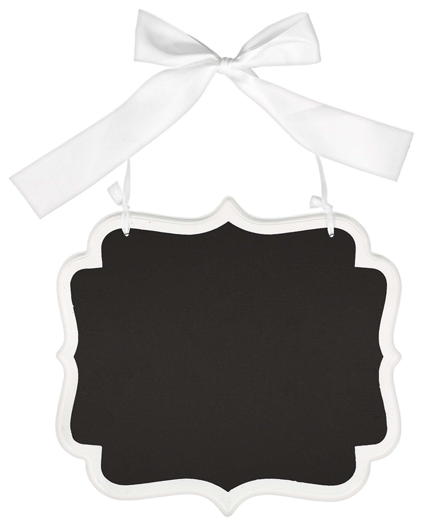 Large White Wooden Chalkboard Sign - ACCESSORIES WEDDING - Party Supplies - America Likes To Party