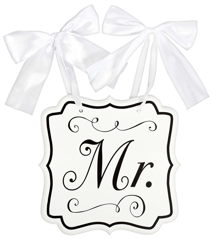 "Wooden ""Mr."" Sign - ACCESSORIES WEDDING - Party Supplies - America Likes To Party"