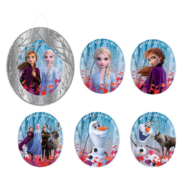 ©Disney Frozen 2 Glitter Wall Frame Decoration Kit