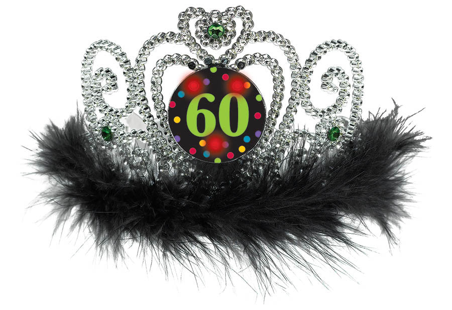 """60"" Light Up Tiara - NOVELTY ACCESS/GIFTS - Party Supplies - America Likes To Party"