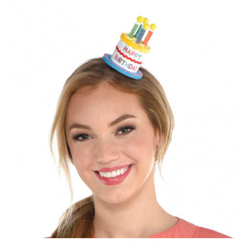 Here's to Your Birthday Mini Clip-on Hat