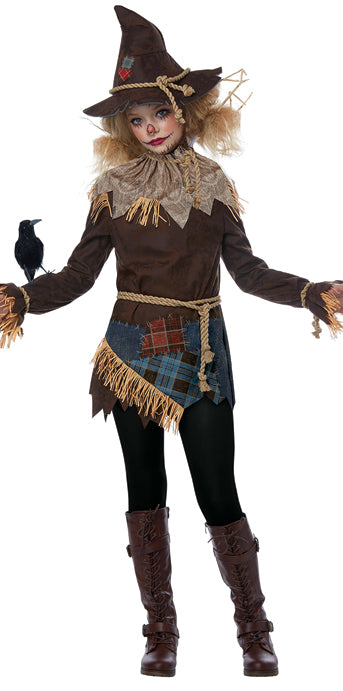 Child Creepy Scarecrow Costume - GIRLS - Halloween & Party Costumes - America Likes To Party