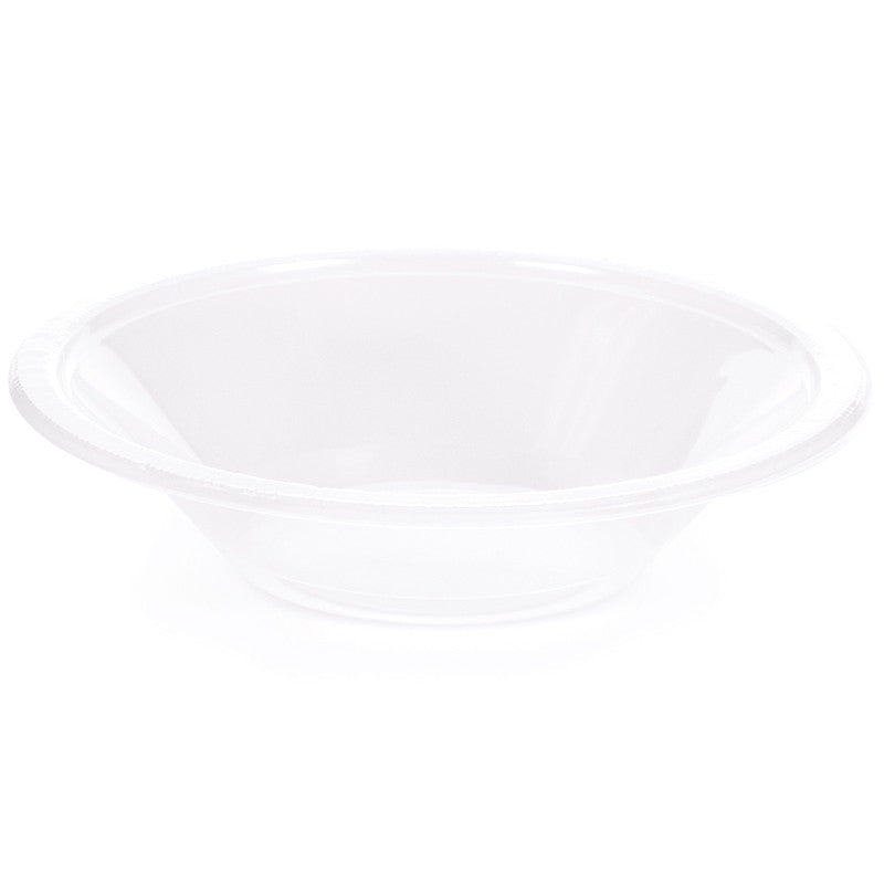 Clear 12oz Plastic Bowls - CLEAR .86 - Party Supplies - America Likes To Party
