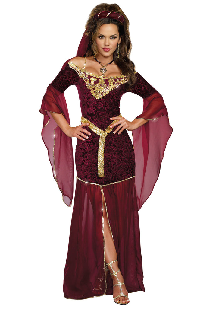 Adult Medieval Enchantress Costume - ADULT FEMALE - Halloween & Party Costumes - America Likes To Party