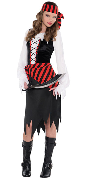 Child Buccaneer Beauty Costume - GIRLS - Halloween & Party Costumes - America Likes To Party