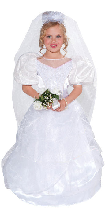 Child Bride Costume - GIRLS - Halloween & Party Costumes - America Likes To Party