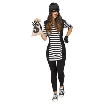 Adult Burglar Babe Costume - ADULT FEMALE - Halloween & Party Costumes - America Likes To Party