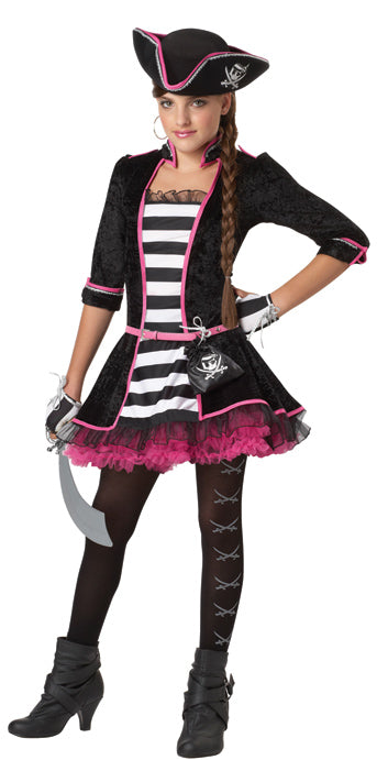Child High Seas Pirate Costume - GIRLS - Halloween & Party Costumes - America Likes To Party