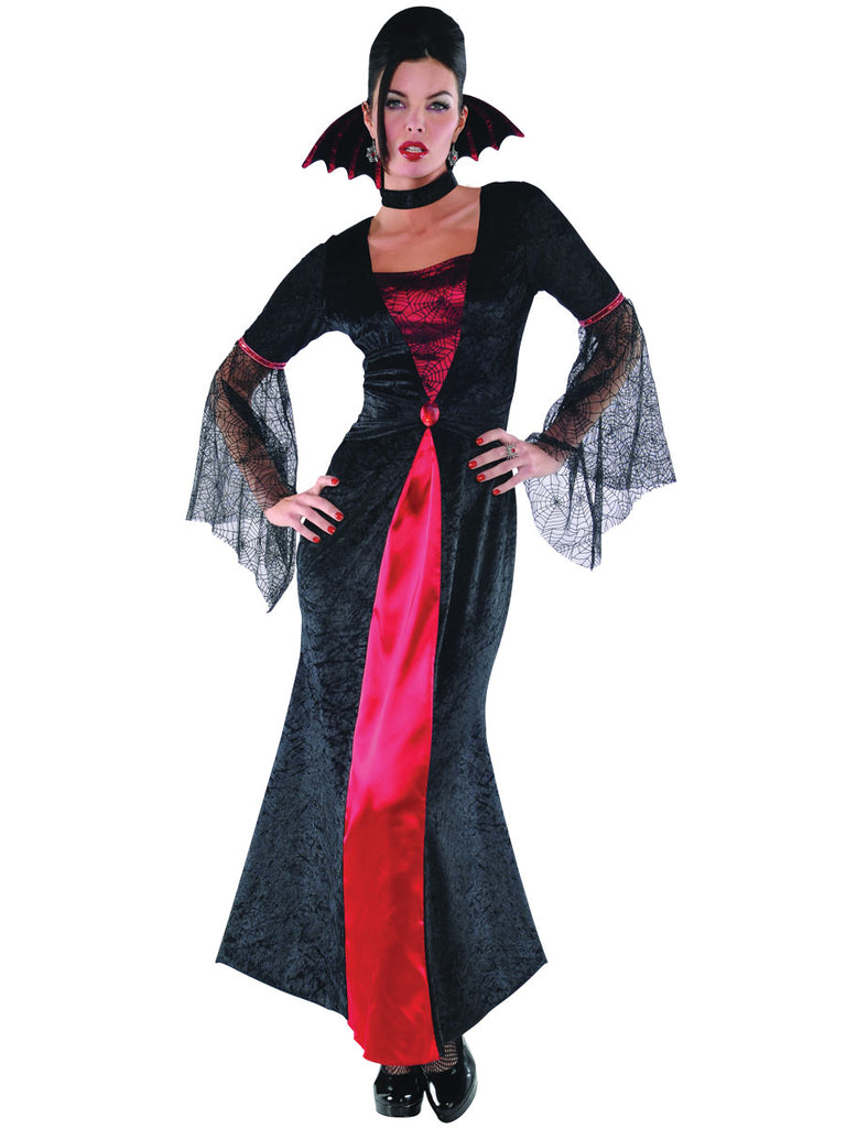 Adult Countess Vampiretta Costume - ADULT FEMALE - Halloween & Party Costumes - America Likes To Party