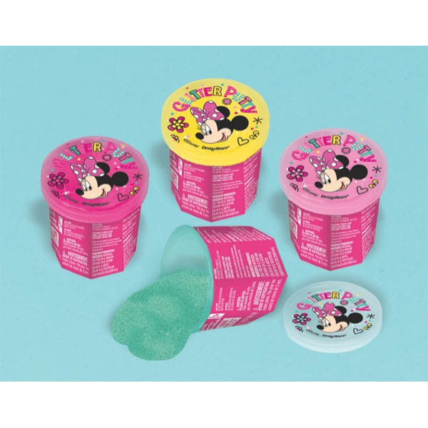 Minnie Mouse Glitter Putty