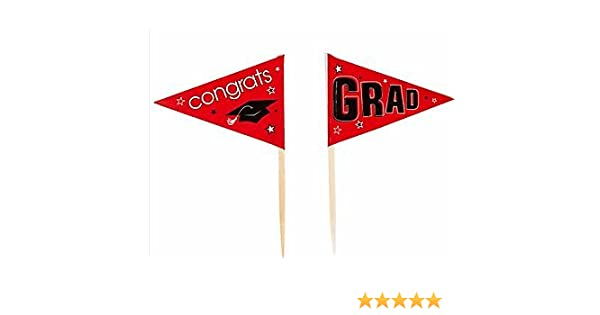 Graduation Party Picks Red
