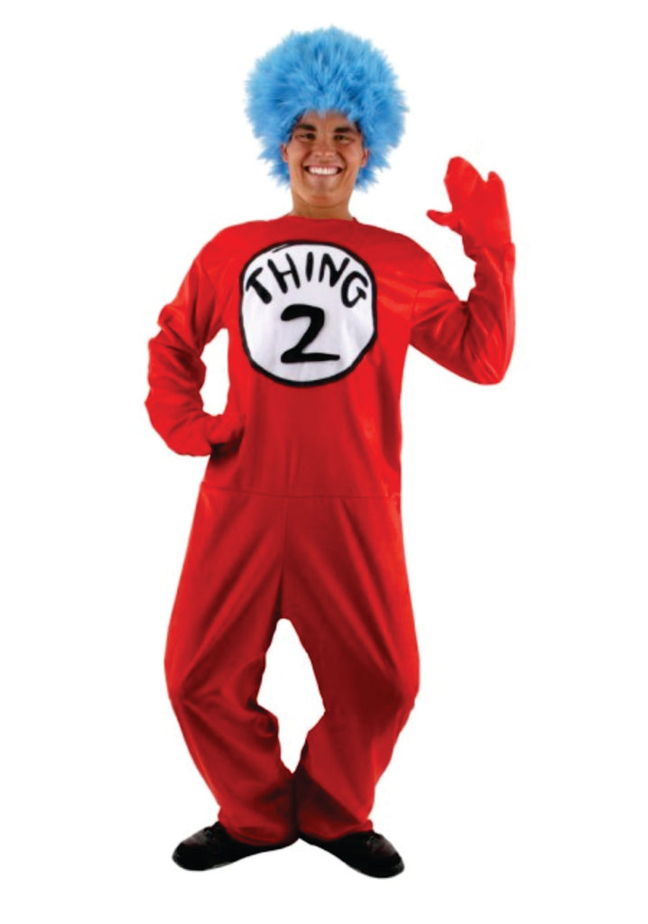 Adult Thing 1 Deluxe Costume Small/Medium
