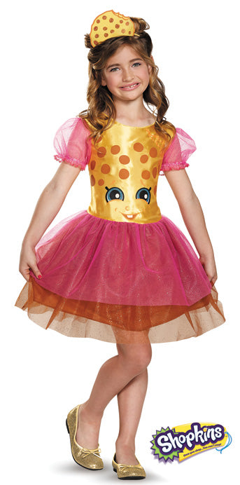 Child Shopkins Kookie Cookie Costume - GIRLS - Halloween & Party Costumes - America Likes To Party
