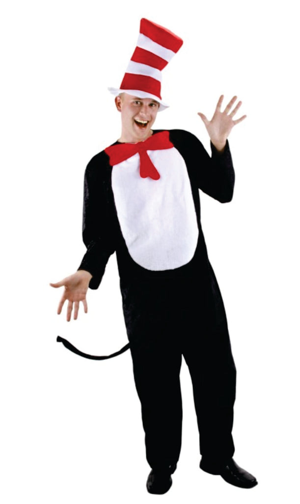 Adult Cat in the Hat costume S/M