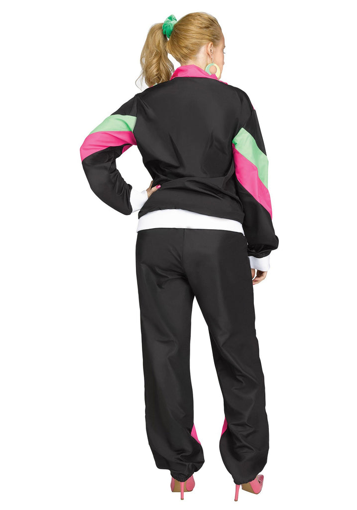 Adult Mens 80's Track Suit - ADULT MALE - Party Supplies - America Likes To Party
