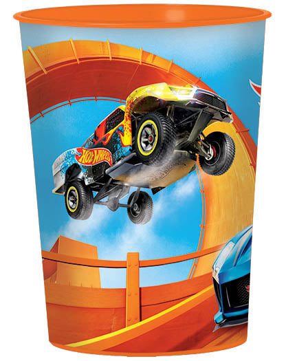 Hot Wheels Plastic Favor Cup - *HOT WHEELS - Party Supplies - America Likes To Party