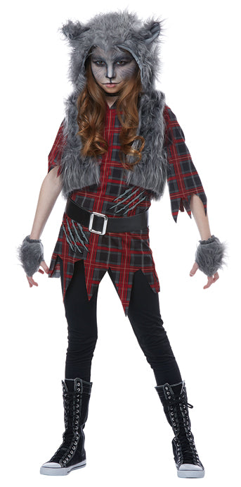 Child Werewolf Girl Costume - GIRLS - Halloween & Party Costumes - America Likes To Party