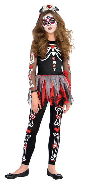 Child Scared To The Bone Costume - GIRLS - Halloween & Party Costumes - America Likes To Party
