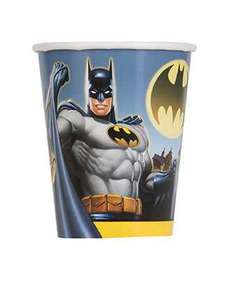 Batman 9oz Paper Cups 8ct - BATMAN - Party Supplies - America Likes To Party